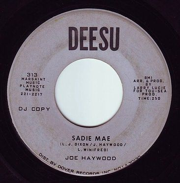 JOE HAYWOOD - SADIE MAE - DEESU DEMO