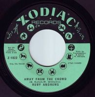 RUBY ANDREWS - AWAY FROM THE CROWD - ZODIAC