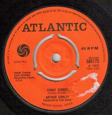 ARTHUR CONLEY - FUNKY STREET - ATLANTIC