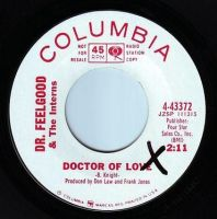 DR. FEELGOOD & THE INTERNS - DOCTOR OF LOVE - COLUMBIA DEMO