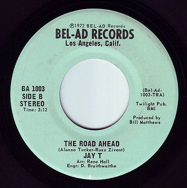 JAY T - THE ROAD AHEAD - BEL-AD