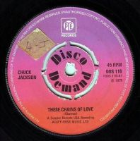 CHUCK JACKSON - THESE CHAINS OF LOVE - PYE DD