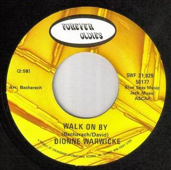 DIONNE WARWICK - WALK ON BY - FOREVER OLDIES