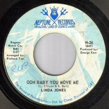 LINDA JONES - OOH BABY YOU MOVE ME - NEPTUNE