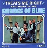 SHADES OF BLUE - TREATS ME RIGHT - IMPACT
