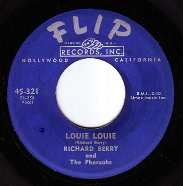 RICHARD BERRY - LOUIE LOUIE - FLIP