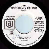 STEVE KARMEN BIG BAND - MOMENTS - UA DEMO