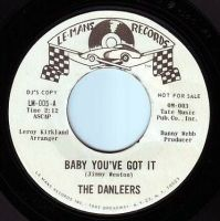 DANLEERS - BABY YOU'VE GOT IT - LE MANS DEMO