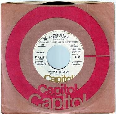 NANCY WILSON - ARE WE LOSIN' TOUCH - CAPITOL DEMO