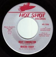 MARSHA BRODY - RIGHT COMBINATION - HOT SHOT