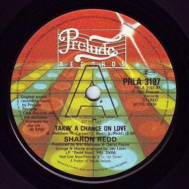 SHARON REDD - TAKIN' A CHANCE ON LOVE - PRELUDE DEMO