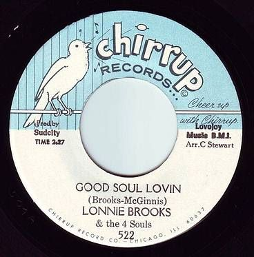 LONNIE BROOKS - GOOD SOUL LOVIN - CHIRRUP