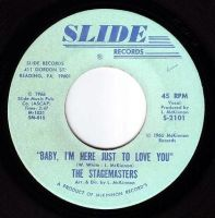 STAGEMASTERS - BABY, I'M HERE JUST TO LOVE YOU - SLIDE
