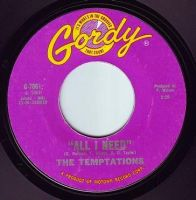 TEMPTATIONS - ALL I NEED - GORDY