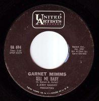 GARNET MIMMS - TELL ME BABY - UA