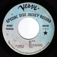 BOBBY PEDRICK - MAYBE - VERVE DEMO