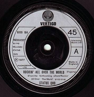 STATUS QUO - ROCKIN' ALL OVER THE WORLD - VERTIGO