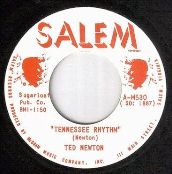 TED NEWTON - TENNESSEE RHYTHM - SALEM