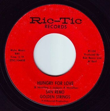 SAN REMO GOLDEN STRINGS - HUNGRY FOR LOVE - RIC-TIC 104