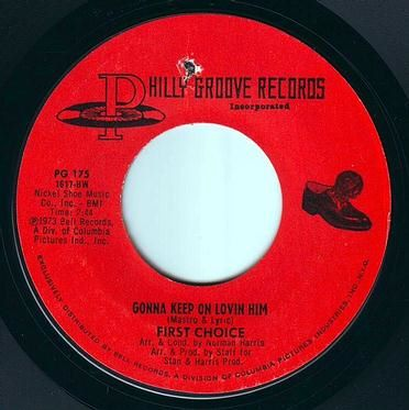 FIRST CHOICE - GONNA KEEP ON LOVIN HIM - PHILLY GROOVE