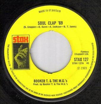 BOOKER T & MG's - SOUL CLAP 69 - STAX