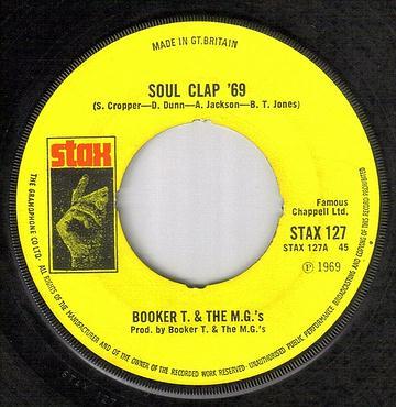 BOOKER T & MG's - SOUL CLAP 69 - STAX