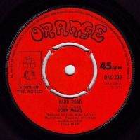 JOHN MILES - HARD ROAD - ORANGE