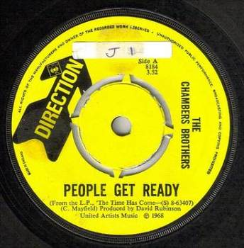 CHAMBERS BROTHERS - PEOPLE GET READY - DIRECTION