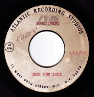 SOUL TWINS - JUST ONE LOOK - ATLANTIC TEST PRESS