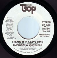 McFADDEN & WHITEHEAD - I HEARD IT IN A LOVE SONG - TSOP DEMO