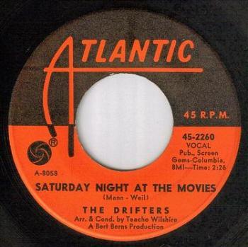DRIFTERS - SATURDAY NIGHT AT THE MOVIES - ATLANTIC