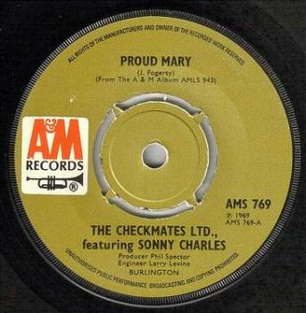 CHECKMATES LTD - PROUD MARY - A&M