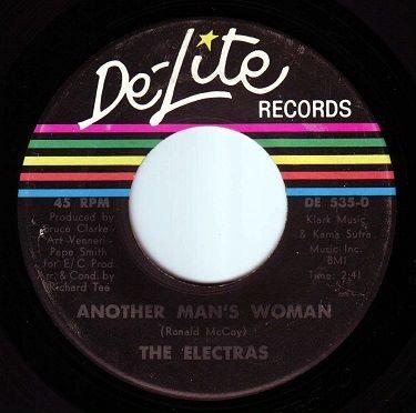 ELECTRAS - ANOTHER MAN'S WOMAN - DE-LITE