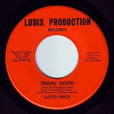 LLOYD PRICE - FEELIN' GOOD - LUDIX PRODUCTION