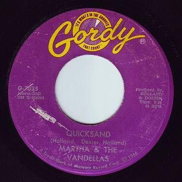 MARTHA & THE VANDELLAS - QUICKSAND - GORDY