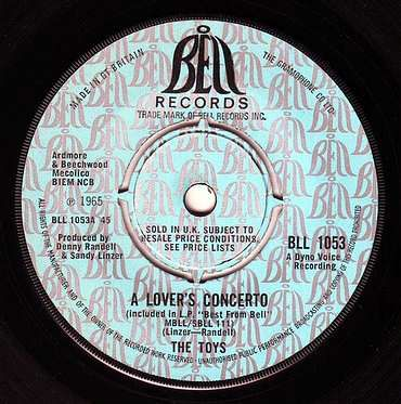 TOYS - A LOVERS CONCERTO - BELL