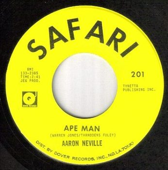 AARON NEVILLE - APE MAN - SAFARI
