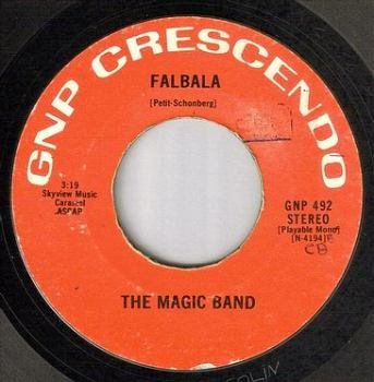 MAGIC BAND - FALBALA - GNP CRESCENDO