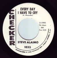 STEVE ALAIMO - EVERY DAY I HAVE TO CRY - CHECKER DEMO