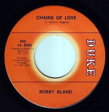 BOBBY BLAND - CHAINS OF LOVE - DUKE