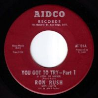 RON RUSH - YOU GOT TO TRY (A LITTLE BIT HARDER) - AIDCO