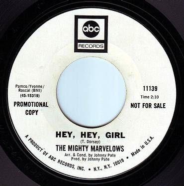 MIGHTY MARVELOWS - HEY, HEY GIRL - ABC DEMO