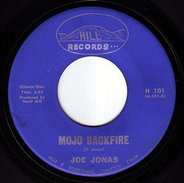 JOE JONAS - MOJO BACKFIRE - HILL