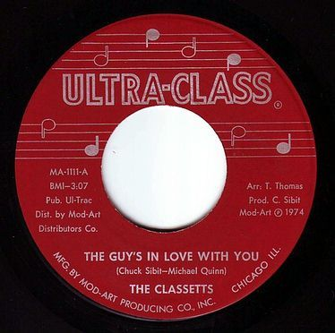 CLASSETTS - THE GUY'S IN LOVE WITH YOU - ULTRA-CLASS