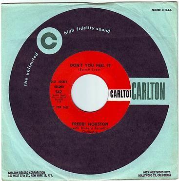 FREDDI HOUSTON - DON'T YOU FEEL IT - CARLTON DEMO