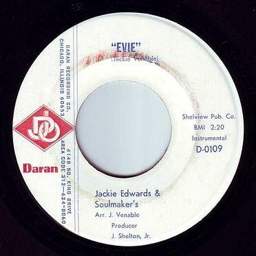 JACKIE EDWARDS & SOULMAKER'S - EVIE - DARAN