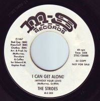 STRIDES - I CAN GET ALONG (WITHOUT YOUR LOVE) - M-S DEMO