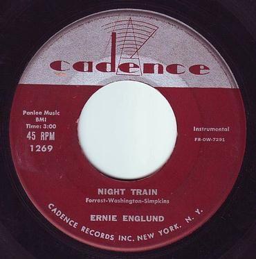ERNIE ENGLUND - NIGHT TRAIN - CADENCE
