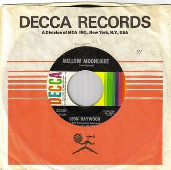 LEON HAYWOOD - MELLOW MOONLIGHT - DECCA