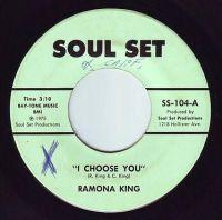 RAMONA KING - I CHOOSE YOU - SOUL-SET